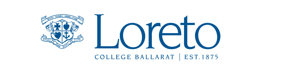 Loreto-blue logo